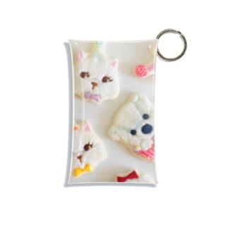 動物たちのパーティー Mini Clear Multipurpose Case