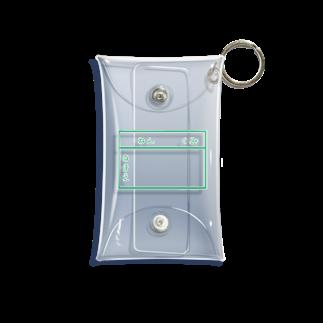 ちるまの店の学校指定ジャージ Mini Clear Multipurpose Case