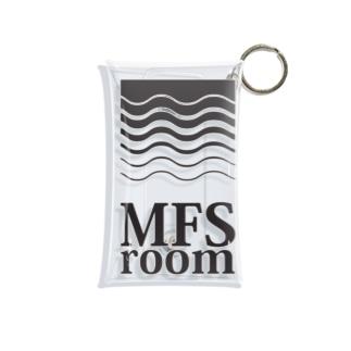 MFS room trim5(黒) Mini Clear Multipurpose Case