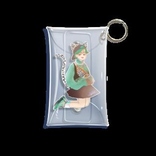 Sayaka のGreen catgirl Mini Clear Multipurpose Case