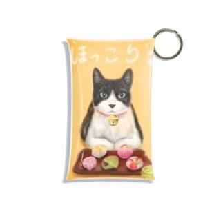 茶屋猫 上生菓子 Mini Clear Multipurpose Case