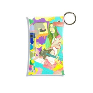 POP GIRL #9 Mini Clear Multipurpose Case