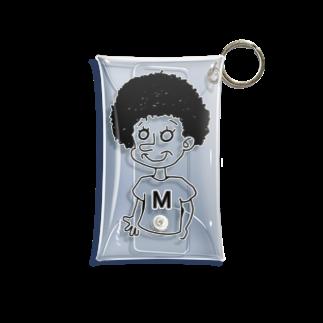 栗の村上さん Mini Clear Multipurpose Case