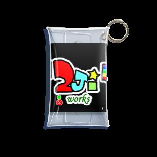 301☆の2jiworks Mini Clear Multipurpose Case