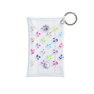MARUKOSHIKIのPANDA LAUREN Mini Clear Multipurpose Case
