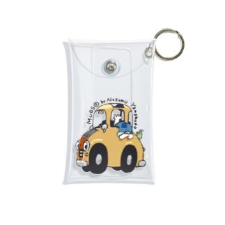 車の中から、こんにちは🖐🏻 Mini Clear Multipurpose Case