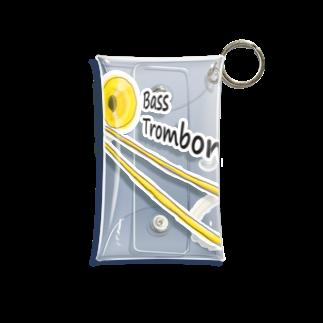なななのBass Trombone Mini Clear Multipurpose Case