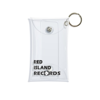 RED ISLANDグッズ Mini Clear Multipurpose Case