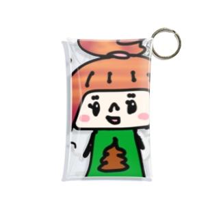 うんこちゃん Mini Clear Multipurpose Case