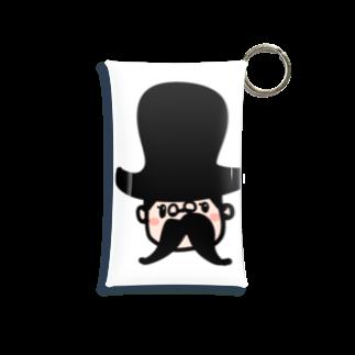 万枚ちゃんの紳士さん Mini Clear Multipurpose Case