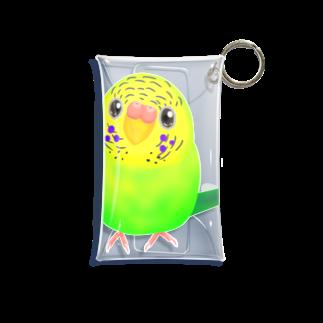 Lily bird(о´∀`о)のうるうるピーちゃん① Mini Clear Multipurpose Case