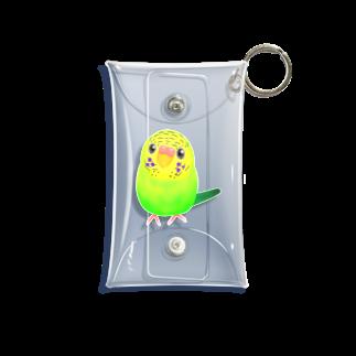 Lily bird(о´∀`о)のうるうるピーちゃん② Mini Clear Multipurpose Case