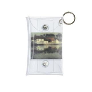湖スレスレのお家 西洋画 Mini Clear Multipurpose Case
