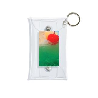 青緑 Mini Clear Multipurpose Case