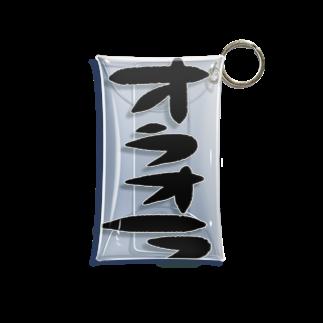 万枚ちゃんのオラオラ Mini Clear Multipurpose Case