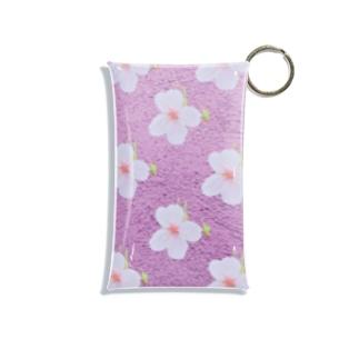 キミの季節。(紫) Mini Clear Multipurpose Case