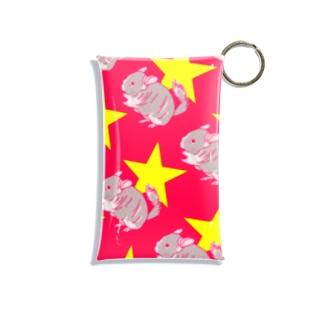 Chinchilla★(PK) Mini Clear Multipurpose Case