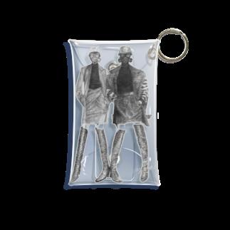よぷーるのガスマスク Mini Clear Multipurpose Case