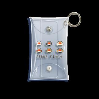 marketUのドットキンカ 6つのお顔 Mini Clear Multipurpose Case