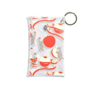 かわうそとりんご Mini Clear Multipurpose Case