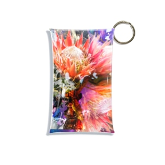 + Fete des fleurs 01《king Protea》 Mini Clear Multipurpose Case