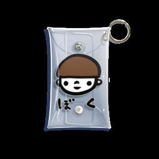 万枚ちゃんのぼく Mini Clear Multipurpose Case