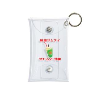 新宿SAMURAIクリームソーダ部 Mini Clear Multipurpose Case