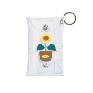 お花屋さん Mini Clear Multipurpose Case