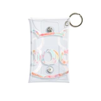 パステルくま Mini Clear Multipurpose Case