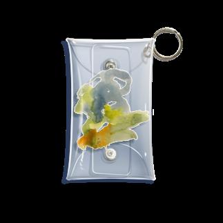 yawn shopのpattern2 Mini Clear Multipurpose Case