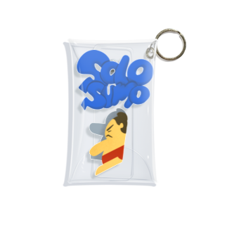 Slow Typingの一人相撲 SOLO SUMO 063 Mini Clear Multipurpose Case