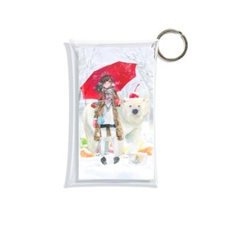 シロクマ Mini Clear Multipurpose Case