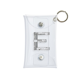 madorizu room-E 【間取り図】 Mini Clear Multipurpose Case