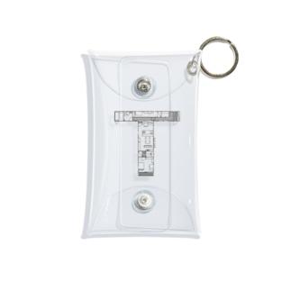 madorizu room-T 【間取り図】 Mini Clear Multipurpose Case