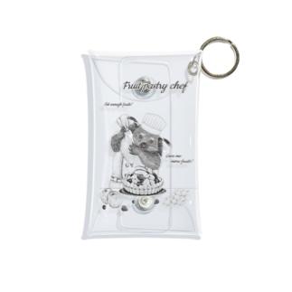 プリズモリイの箱の【ビントロングキングダムシリーズ】ビントロングのフルーツパティシエ Mini Clear Multipurpose Case