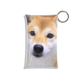 kawaii柴犬 Mini Clear Multipurpose Case