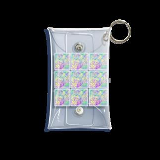 ちるまの店の紫陽花 Mini Clear Multipurpose Case