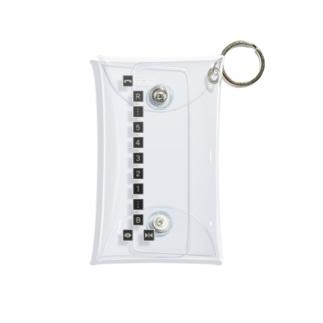 エレベーターボタン Mini Clear Multipurpose Case