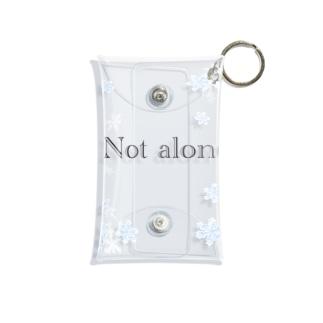 not alone Mini Clear Multipurpose Case