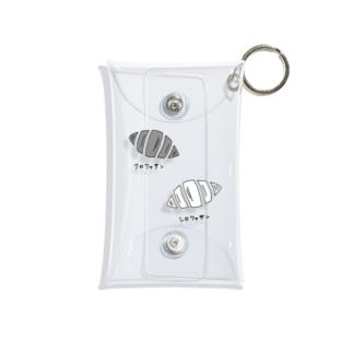 クロワッサン、シロワッサン Mini Clear Multipurpose Case