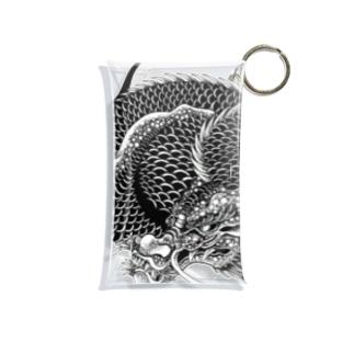 龍と巴 Mini Clear Multipurpose Case