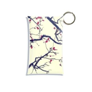 Japanese FLOWER Mini Clear Multipurpose Case