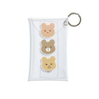 くまさんケース Mini Clear Multipurpose Case