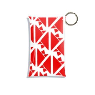 サーヴィエ行進曲 紅 Mini Clear Multipurpose Case