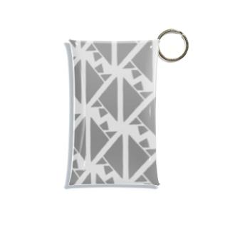 気ままに創作 よろず堂のサーヴィエ行進曲 燻銀 Mini Clear Multipurpose Case