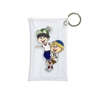 組み体操boys Mini Clear Multipurpose Case