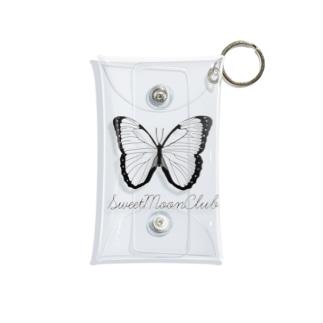 SMC butterfly logo Mini Clear Multipurpose Case