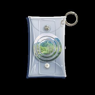 イエネコのLandscape  Mini Clear Multipurpose Case