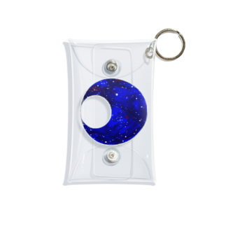 采-aya-の青い月 Mini Clear Multipurpose Case