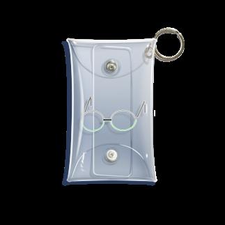 すぺっくりばーのミドリなメガネ Mini Clear Multipurpose Case
